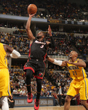 Mar 26, 2014, Miami Heat vs Indiana Pacers - Dwayne Wade Photographic Print by Ron Hoskins