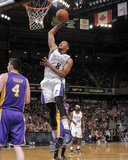 Apr 2, 2014, Los Angeles Lakers vs Sacramento Kings - Rudy Gay Photographic Print by Rocky Widner