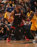 Mar 26, 2014, Miami Heat vs Indiana Pacers - Dwayne Wade Photo by Ron Hoskins