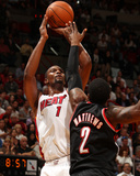Mar 24 2014, Portland Trailblazers vs Miami Heat - Chris Bosh Photo by Issac Baldizon