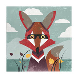 Fox Prints by Anna Polanski