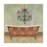 Boudoir Bath I Print by Sloane Addison