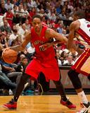 Mar 31 2014, Toronto Raptors vs Miami Heat - DeMar DeRozan Fotografisk tryk af Issac Baldizon
