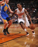 Dec 15, 2013, Golden State Warriors vs Phoenix Suns - Eric Bledsoe Photographic Print by Barry Gossage