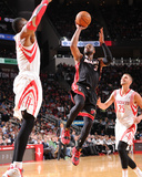 Mar 4, 2014, Miami Heat vs Houston Rockets - Dwayne Wade Photographic Print by Bill Baptist