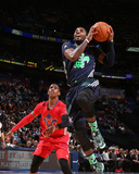 2014 NBA All-Star Game: Feb 16 - Chris Paul, Kyrie Irving Photographic Print by Nathaniel S. Butler