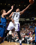 Apr 6, 2014, Dallas Mavericks vs Sacramento Kings - Rudy Gay Photographic Print by Garrett Ellwood