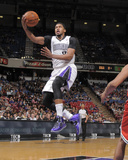 Mar 23, 2014, Milwaukee Bucks vs Sacramento Kings - Rudy Gay Fotografisk trykk av Rocky Widner