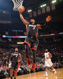 Mar 4, 2014, Miami Heat vs Houston Rockets - Dwayne Wade Photographic Print by Jesse D. Garrabrant