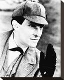 Jeremy Brett, The Adventures of Sherlock Holmes Stretched Canvas Print