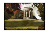 Gazebo on the Hill Print by Kevin Calaguiro