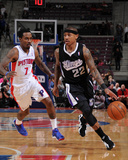 Mar 11, 2014, Sacramento Kings vs Detroit Pistons - Isaiah Thomas Photographic Print by Allen Einstein