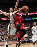 Feb 08, 2014, Miami Heat vs Utah Jazz - Dwayne Wade Photographic Print by Melissa Majchrzak