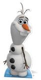 Olaf (Bonhomme de neige) - La Reine des neiges Silhouettes découpées en carton
