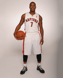 Sep 30, 2013, Toronto Raptors Media Day 2013 - Kyle Lowry Photographic Print by Ron Turenne