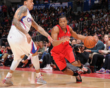 Feb 7, 2014, Toronto Raptors vs Los Angeles Clippers - Kyle Lowry Photo by Andrew Bernstein