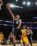 Mar 19, 2014, San Antonio Spurs vs Los Angeles Lakers - Tony Parker Photographic Print by Noah Graham