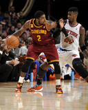 Mar 8, 2014, New York Knicks vs Cleveland Cavaliers - Kyrie Irving Photographic Print by David Liam Kyle