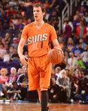 Mar 21, 2014, Detroit Pistons vs Phoenix Suns - Goran Dragic Photographic Print by Barry Gossage