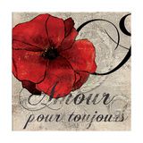 Amour Toujours Prints by Sloane Addison