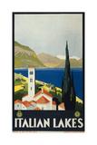 Italian Lakes Giclee Print