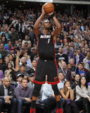 Dec 27, 2013, Miami Heat vs Sacramento Kings - Chris Bosh Photographic Print by Rocky Widner