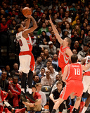 Apr 2, 2014, Houston Rockets vs Toronto Raptors - DeMar DeRozan Photographic Print by Ron Turenne