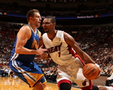 Jan 23, 2014, Golden State Warriors vs Miami Heat - Chris Bosh Photo by Issac Baldizon