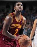 Feb 3, 2014, Cleveland Cavaliers vs Dallas Mavericks - Kyrie Irving Photographic Print by Danny Bollinger