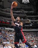 Feb 18, 2014, Miami Heat vs Dallas Mavericks - Dwayne Wade Photographic Print by Glenn James