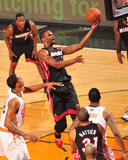 Feb 11, 2014, Miami Heat vs Phoenix Suns - Chris Bosh Photographic Print by Barry Gossage