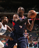 Mar 17, 2014, Atlanta Hawks vs Charlotte Bobcats - Paul Millsap Photographic Print by Brock Williams-Smith