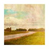 Vintage Road Giclee Print by Anna Polanski
