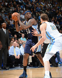Mar 31, 2014, Memphis Grizzlies vs Denver Nuggets - Zach Randolph Photographic Print by Garrett Ellwood