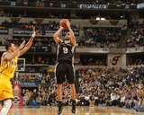 Mar 31, 2014, San Antonio Spurs vs Indiana Pacers - Tony Parker Photographic Print by Ron Hoskins