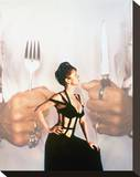 Helen Mirren, The Cook the Thief His Wife & Her Lover (1989) Stretched Canvas Print
