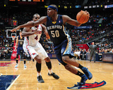 Feb 8, 2014, Memphis Grizzlies vs Atlanta Hawks - Zach Randolph Photographic Print by Scott Cunningham