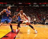 Apr 6, 2014, New York Knicks vs Miami Heat - Chris Bosh Photo by Issac Baldizon