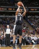Mar 21, 2014, San Antonio Spurs vs Sacramento Kings - Tony Parker Photographic Print by Rocky Widner