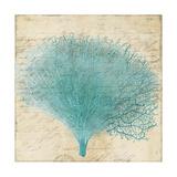 Blue Coral III Print by Anna Polanski
