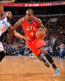 Jan 31, 2014, Atlanta Hawks vs Philadelphia 76ers - Paul Millsap Photo by Jesse D. Garrabrant