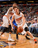 Apr 6, 2014, Oklahoma City Thunder vs Phoenix Suns - Goran Dragic Photo by Barry Gossage