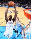 Mar 24, 2014, Denver Nuggers vs Oklahoma City Thunder - Serge Ibaka Photographic Print by Layne Murdoch