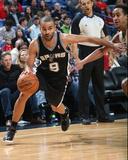Jan 13, 2014, San Antonio Spurs vs New Orleans Pelicans - Tony Parker Photo by Layne Murdoch