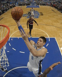 Mar 25, 2014, Portland Trail Blazers vs Orlando Magic - Nikola Vucevic Photo by Fernando Medina