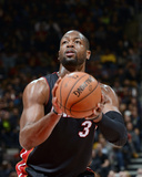 Nov 29, 2013, Miami Heat vs Toronto Raptors - Dwayne Wade Photographic Print by Ron Turenne