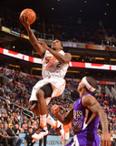 Dec 13, 2013, Sacramento Kings vs Phoenix Suns - Eric Bledsoe Photographic Print by Barry Gossage