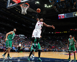 Nov 23, 2013, Boston Celtics vs Atlanta Hawks - Paul Millsap Photo by Scott Cunningham