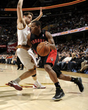 Mar 25, 2014, Toronto Raptors vs Cleveland Cavaliers - Kyle Lowry Photographic Print by David Liam Kyle