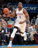 Mar 11, 2014, Houston Rockets vs Oklahoma City Thunder - Serge Ibaka Photographic Print by Layne Murdoch